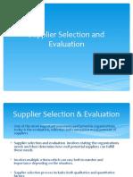 Supply base rationalisation