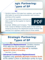 Partnerships in the supply chain