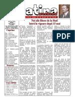 Datina - Ediție Națională - 23-24.05.2020 - prima pagină