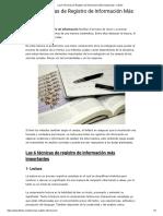 Las 6 Técnicas de Registro de Información Más Destacadas.pdf
