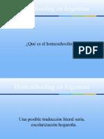 Homeschooling en Argentina