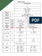 Stats Formula sheet 1