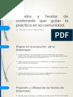 Modelos y Teorías de Enfermería que Guían la Práctica en la Comunidad