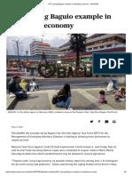 IATF eyeing Baguio example in restarting economy - SUNSTAR