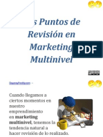Los Puntos de Revisión En Marketing Multinivel