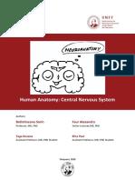 Human Anatomy Central Nervous System.pdf