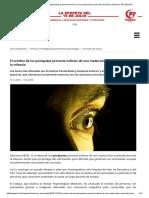 El cerebro de los psicópatas presenta indicios de una maduración acelerada durante la infancia _ TRT Español