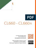 Gigaset Téléphone CL660 Notice