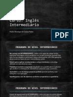 Curso de Ingles Intermediario