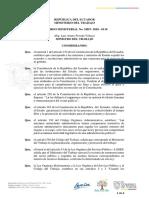 DIRECTRICES PARA OPTAR POR EL CONSENSO DE LABORAR EL FERIADO DEL DÍA