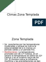 Climas Zona Templada - Sociedad