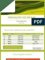 Aula 06_Irrigação no Brasil