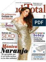MÓNICA NARANJO - SALUD TOTAL Nº63 (01.04.2015)