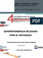 Obligaciones del notario y accion disciplinaria