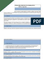 ESTRUCTURAS DEL PROYECTO FORMATIVO-Cultivos Agricolas.