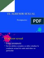 2 El agresor sexual