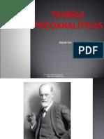B) Teorías psicoanalíticas