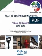Plnan de Desarrollo Municipal - presentado-al-concejo-2016-2019
