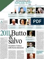 Trianon Viviani, rassegna stampa (da domenica 2 a martedì 4 gennaio 2011)