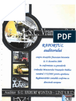 Raport Auditor 2009 Vrancart
