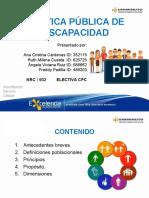 POLÍTICA PÚBLICA DE DISCAPACIDAD.ppt
