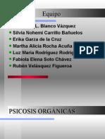 PSICOSIS ORGÁNICAS