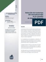 Deteccion de Trastornos Del Neurodesarrollo En La Consulta de Atención Primaria