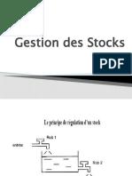 3-Présentation gestion des stocks