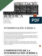 Interpretación e integración jurídica