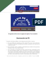 DECLARACION DE FE - PAG 1-2