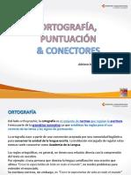 Ortografía, puntuación y conectores