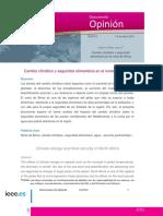 CambioClimatico Y Seguridad Alimentaria EnElNorteDeAfr