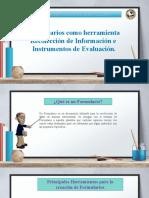 FORMULARIOS DE MICROSOFT O GOOGLE