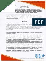 Acuerdo 024 de 2015 Pol tica Pública Municipal de Juventud