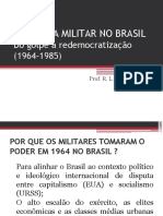 Ditadura Militar no Brasil (9º ano)
