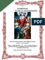 Domingo Después de La Ascensión. Guía de los Fieles para la santa misa cantada. Kyrial Lux Et Origo
