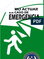 Como actuar en caso de emergencia