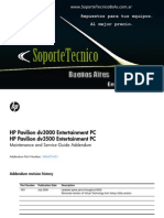 08 Service Manual -HP Pavilion Dv3000 - Dv3500