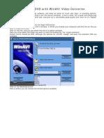 Winavi_making a Dvd With Winavi Video Converter
