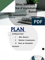 bilan bancaire, résultat d'exploitation, ratios de rentabilité (1).pptx