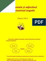 Pronumele și adjectivul pronominal negativ