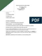 TALLER DE ETICA Y VALORES