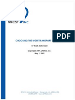 Choosing the Right Transport Protocol