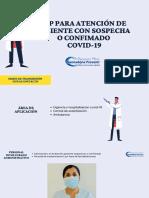 EPP PARA ATENCION DE PACIENTE CON SOSPECHA O CONFIMADO COVID-19