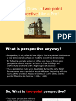 how to draw in two point perspective