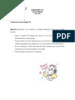 Guía de inglés 6to 29-04