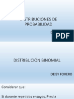 Distrb. Poisson y Binomial