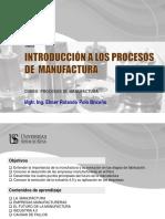 1. Introducción a la Manufactura
