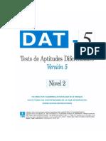 CUADERNILLO DAT5_nivel 2
