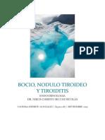 11. BOCIO Y NODULO TIROIDEO, TIROIDISTIS ESPIRITU